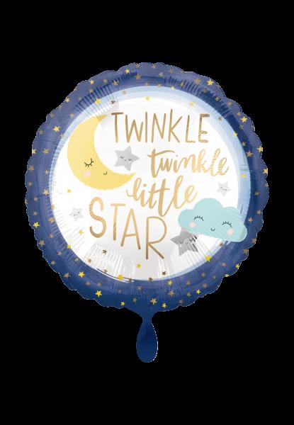 Geburt Standard Folienballon Baby Boy