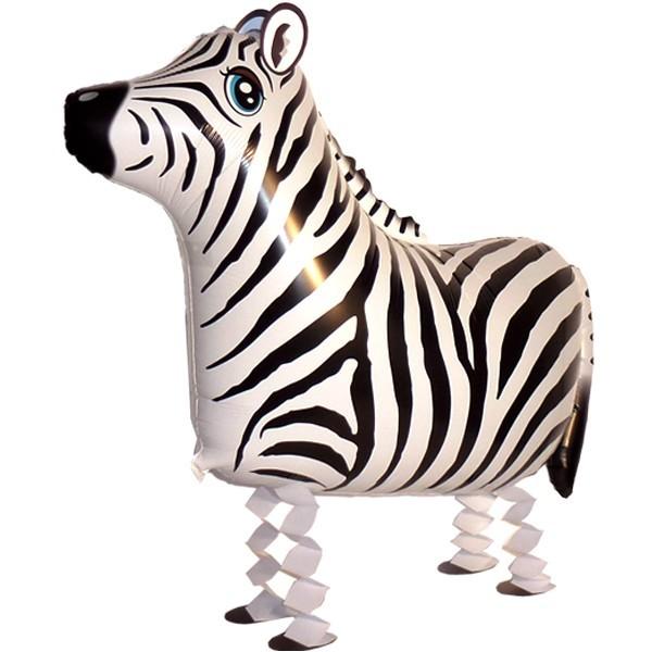 Laufender Ballon - Airwalker Ballon - Zebra