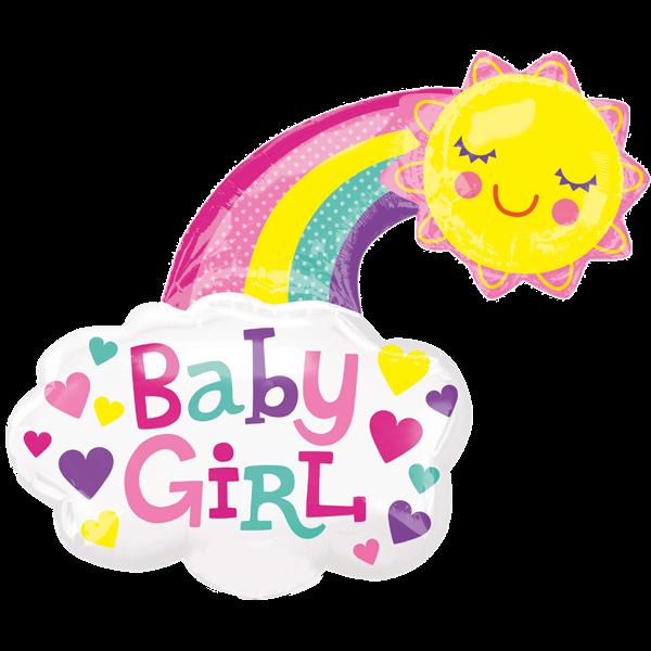 Geburts-Folienballon-Baby