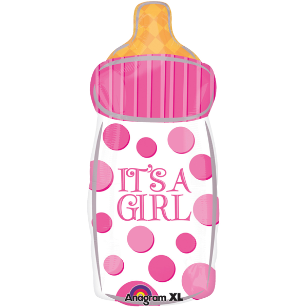 Geburt Folienballon Baby Girl