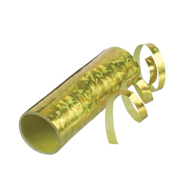 Holographisches Luftschlange Gold
