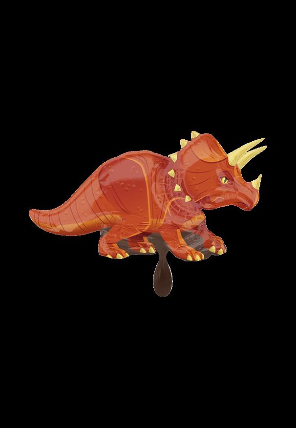 Triceratops Folienballon