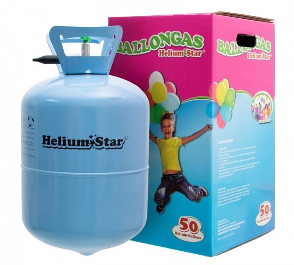 1 Heliumbehälter - Helium für Luftballons ca. 50 Luftballons (mit einem Ø von ca. 25cm)