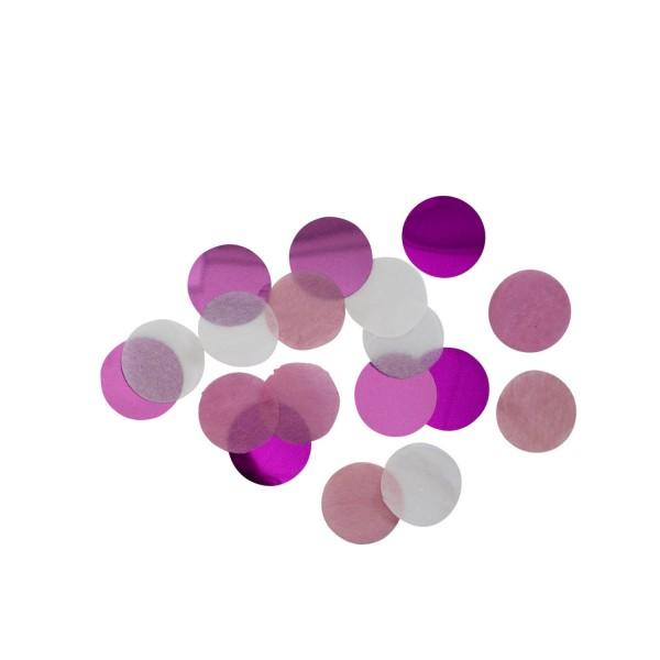 Dekoratives Konfetti - Pink