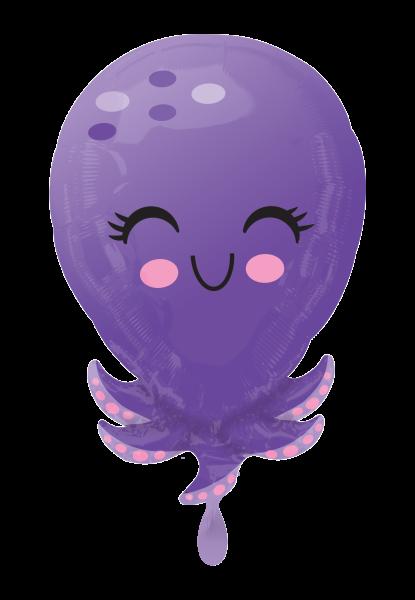 Octopus Folienballon