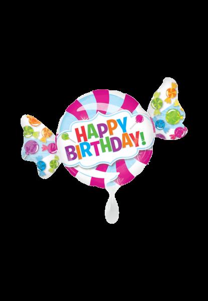 """Happy Birthday"" Folienballon"