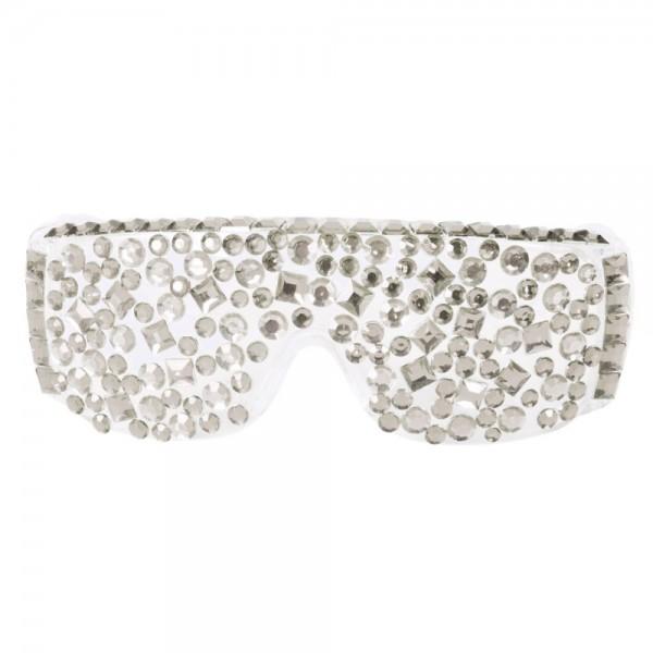 Partybrille Lady Diamond Silver