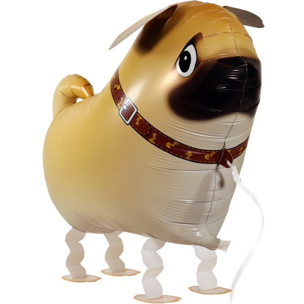 Laufender Ballon - Airwalker Ballon - Mops