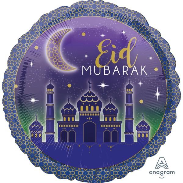 """""""Eid Mubarak"""" Folienballon"""