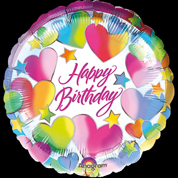 "Bunter ""Happy Birthday"" Folienballon"