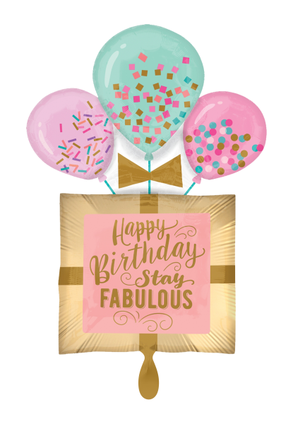 """Happy Birthday stay Fabulous"" Folienballon"