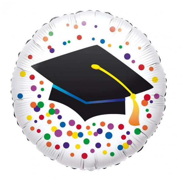 "Standard ""Graduation"" Foil Balloon Round, 43cm"