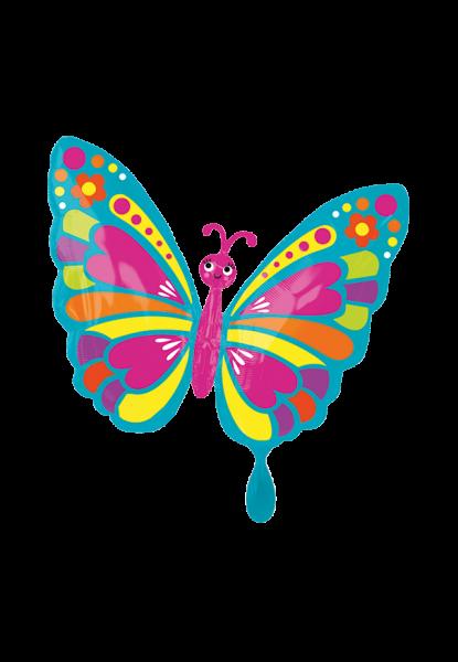 Fröhlicher Frühling Schmetterling