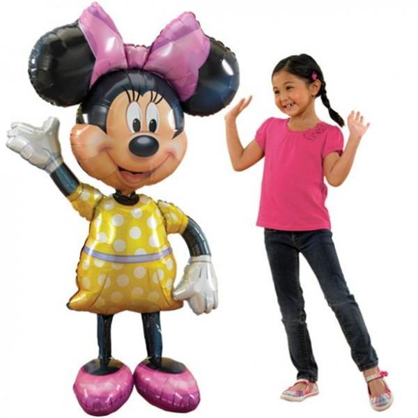 Airwalker Ballon Minnie Maus - 137cm