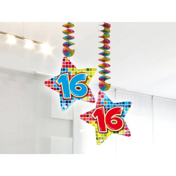 Häng-Dekoration 16 2 Stück